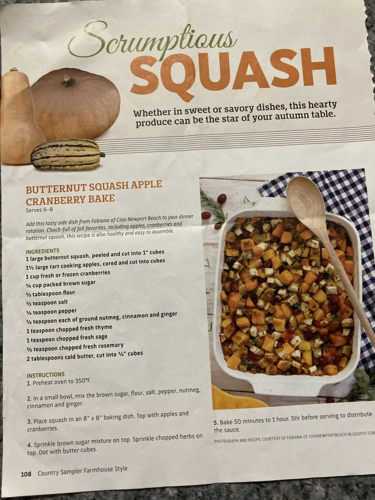 Squash/Apple Bake